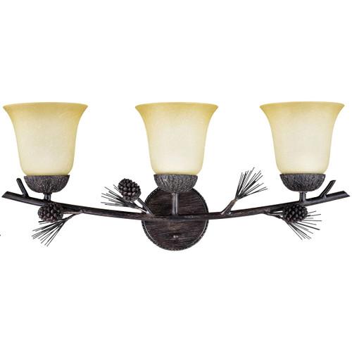 Ponderosa Vanity Light - 3 Light - BACKORDERED UNTIL 12/15/2021