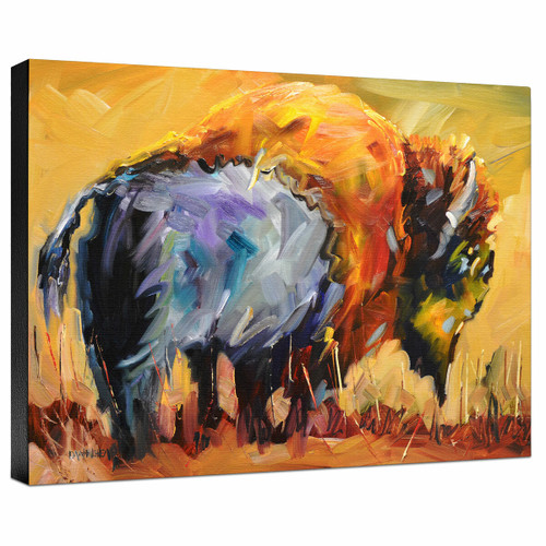 Prairie Watch Galllery Wrapped Canvas