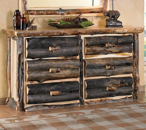 Aspen Log Dresser Only
