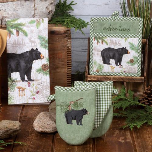 Bear Adventure Kitchen Linens