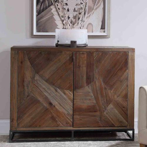 Reclaimed Wood 2-Door Cabinet