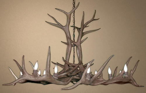 Reproduction Elk Antler Chandelier