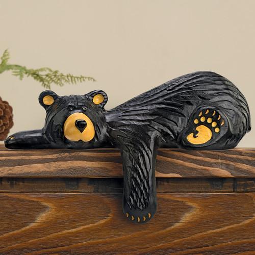 Relaxed Bear Sculpture