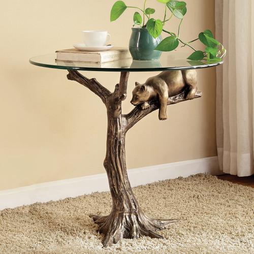 Resting Bear End Table