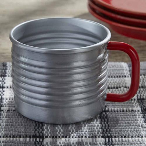 Retro Thermos Mugs - Set of 4