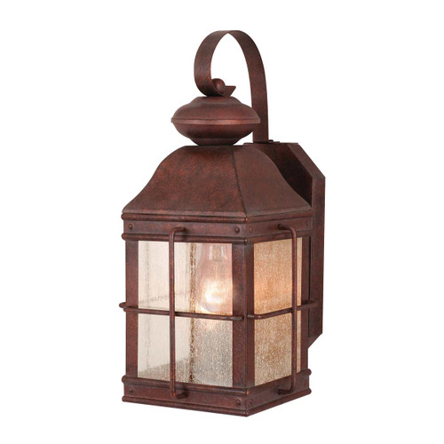 Mountain Trail Outdoor Wall Lamp - 7 Inch