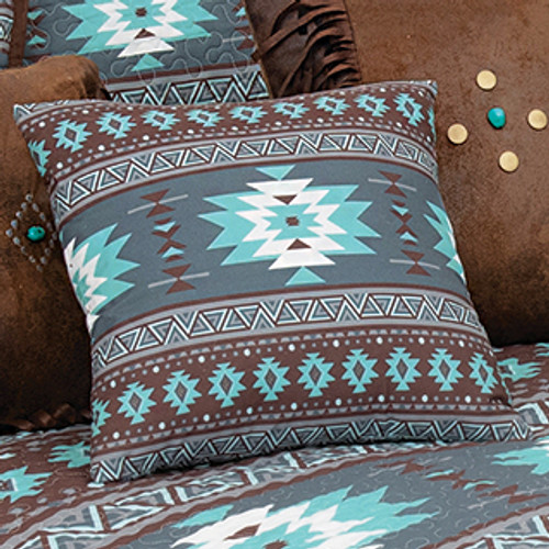 River Journey Accent Pillow - BACKORDERED UNTIL 12/17/2021