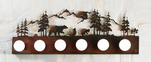 Bear Family Vanity Light (6-Light)