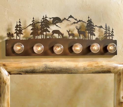 Deer Meadow Vanity Light (6-Light)