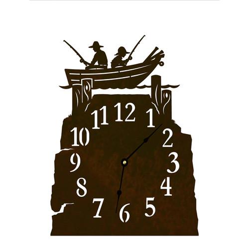 Rowboat Table Clock