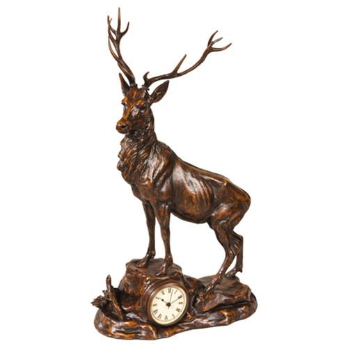 Royal Stag Desk Clock