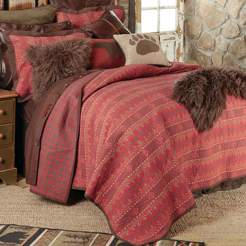 Rushmore Quilt Set - Twin