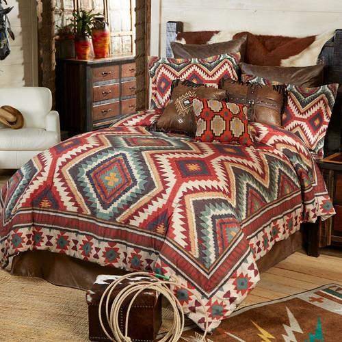 Sage Kilim Comforter - Queen