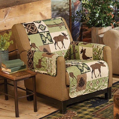 Sage Wilderness Chair Cover