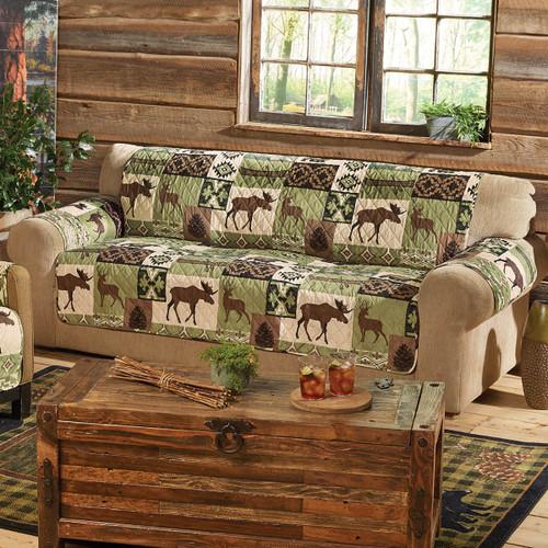 Sage Wilderness Sofa Cover - BACKORDERED UNTIL 10/22/2021