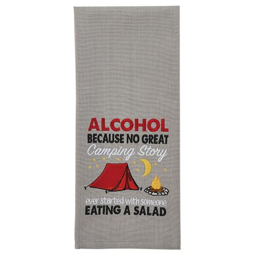 Salad Story Embroidered Dishtowels - Set of 6