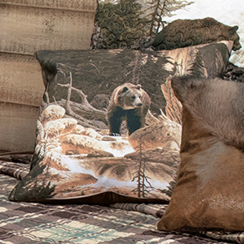 Scenic Bear Mountain Accent Pillow