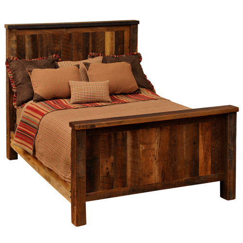 Barnwood Traditional Complete Bed