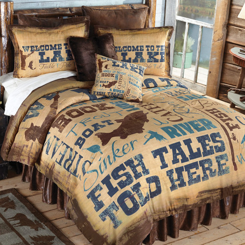 Lake Lifestyle Bedding Collection