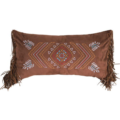 Southwest Fringed Accent Pillow