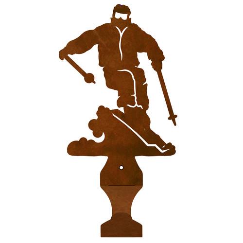 Skier Small Drape Rod Bracket