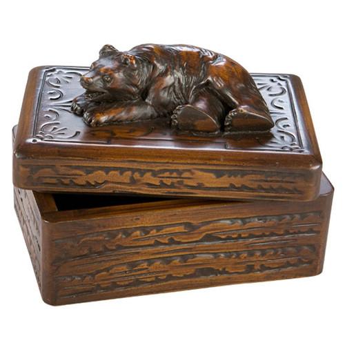Smiling Bear Keepsake Box