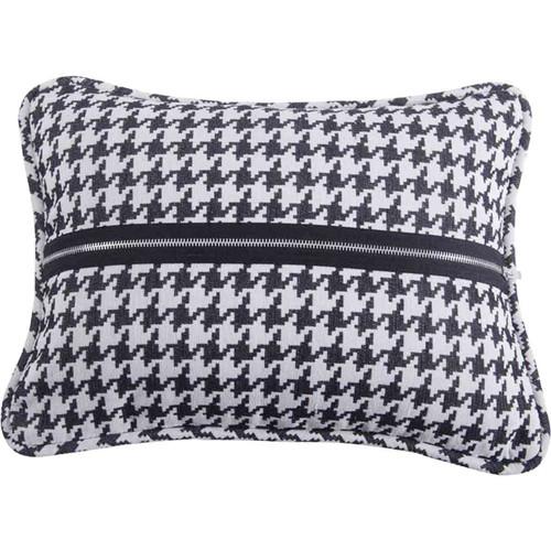 Smoky Mountain Houndstooth Pillow