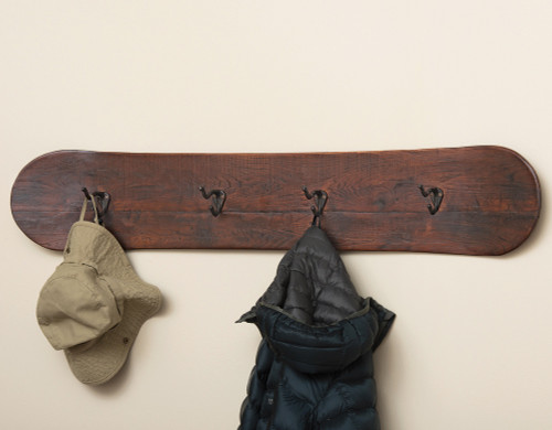 Snowboard Coat Rack - OUT OF STOCK UNTIL 10/31/2021