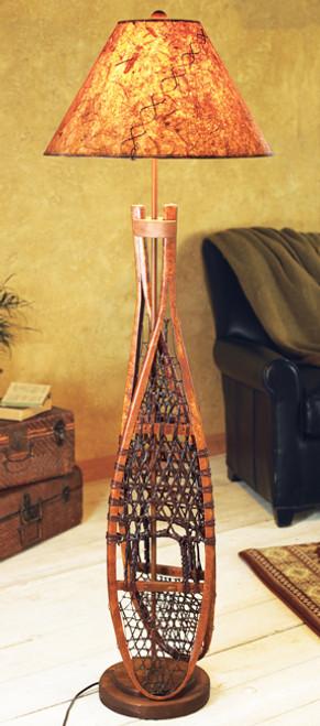 Snowshoe Floor Lamp