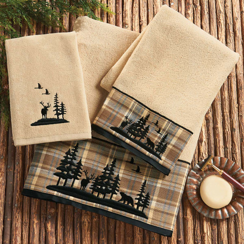 Wildlife Timberland Towel Collection