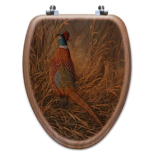 Pheasant Solitude Toilet Seat