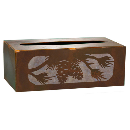 Pinecone Tissue Covers and Waste Basket