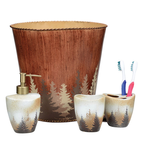 Pinewood Forest Bath Accessories
