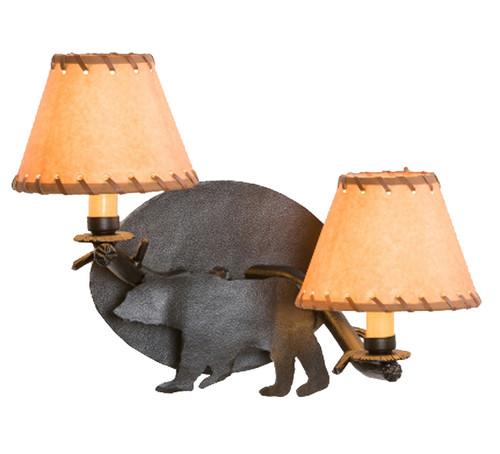 Bear Timber Sconce