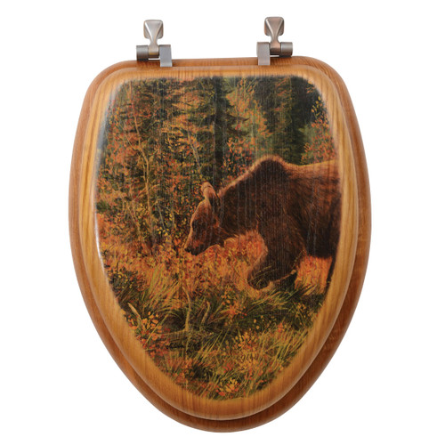 The Grizzly Walk Toilet Seat