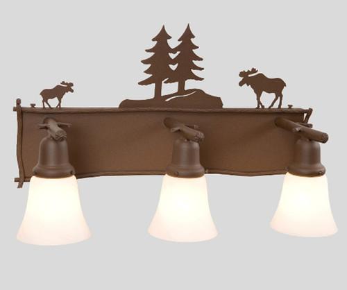 Moose Glacier Vanity - 3 Light