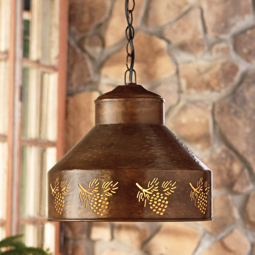 Spruce Creek Pinecone Pendant Light