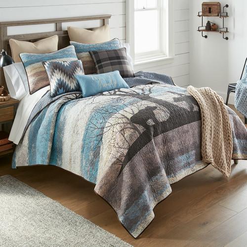 Bear Horizon Quilt Bedding Collection