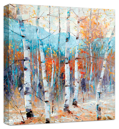 Still Morning Canvas with Mirrored Edges