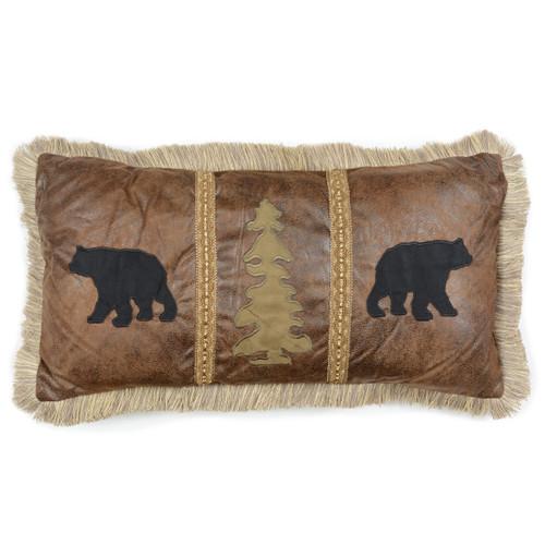 Summit Trail Bear Pillow