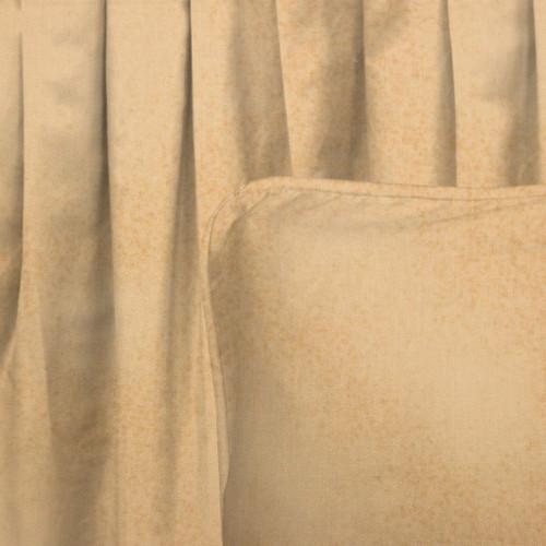 Tan Sponged Gathered Bedskirt - King