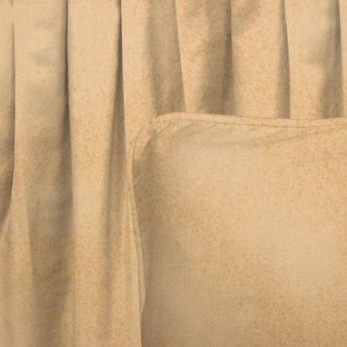 Tan Sponged Gathered Bedskirt - Twin