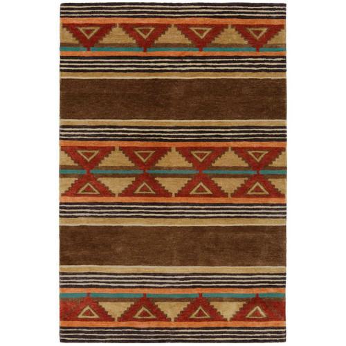 Taos Brown Rug - 9 x 12