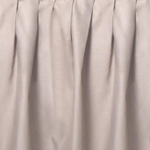 Taupe Gathered Bedskirt - King