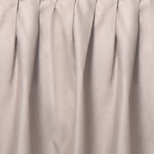 Taupe Gathered Bedskirt - Twin