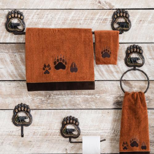 Bear Paw Wilderness Bath Hardware