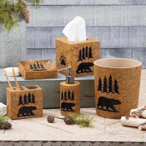 Bear Stone Bath Accessories