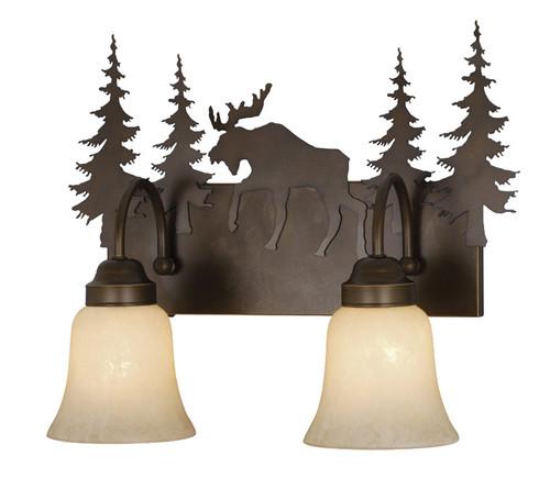 Timberland Vanity Light - 2 Light