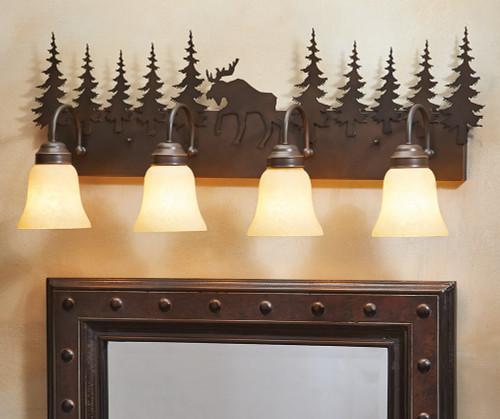 Timberland Vanity Light - 4 Light