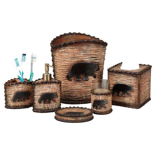 Black Bear Hideaway Bath Collection